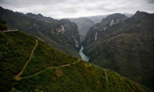 Zdjecie WIETNAM / Prowincja Hà Giang / Yen Minh / W drodze