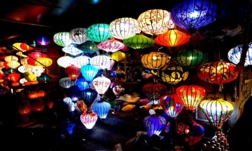 Zdjecie WIETNAM / Quảng Nam / Hội An / Stoisko z lampionami