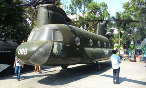 Zdjęcie WIETNAM / Azja / Ho Chi Minh / muzeum pamięci wojny