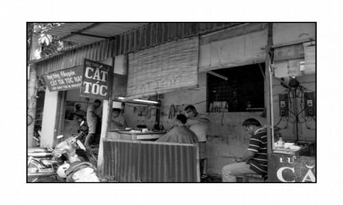 Zdjecie WIETNAM / Hà Giang / Hà Giang / U fryzjera