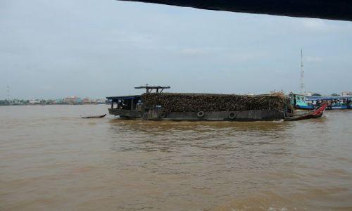 Zdjęcie WIETNAM / Mekong / rzeka / transport