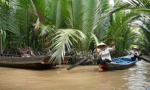 Zdjęcie WIETNAM / Delta Mekongu / na rzece / na rzece 4
