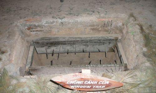 Zdjęcie WIETNAM / Cuchi tunnels / muzeum / czego to nie wymyślą
