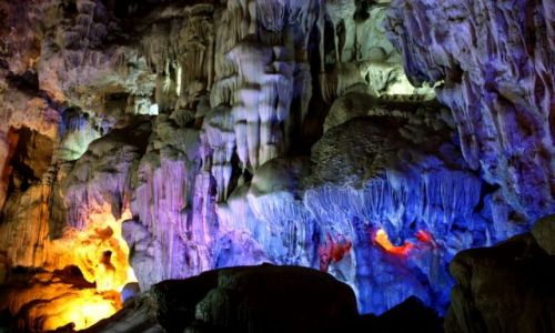 Zdjecie WIETNAM / Ha Long Bay / Hang Dao Go Cave / Uroki Ha Longu cd..