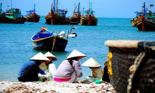 Zdjecie WIETNAM / brak / wioska rybacka za rogatkami Mui Ne / wioska rybacka za rogatkami Mui Ne