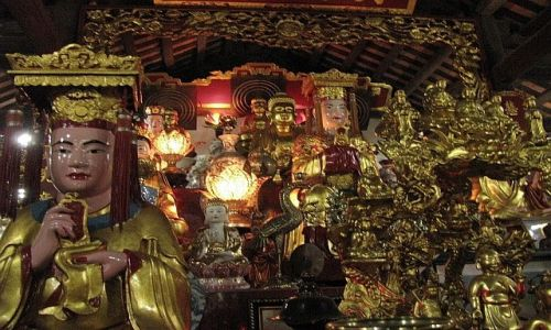 Zdjęcie WIETNAM / brak / Hanoi / świątynia na Jednej Kolumnie