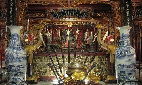 Zdjęcie WIETNAM / brak / Hanoi / świątynia generała Huyen thien Tran