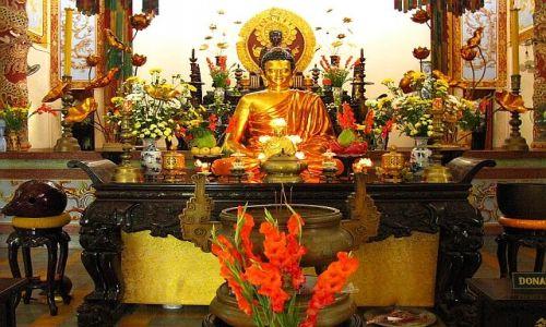 Zdjęcie WIETNAM / brak / Nha Trang / pagoda Long Son 1