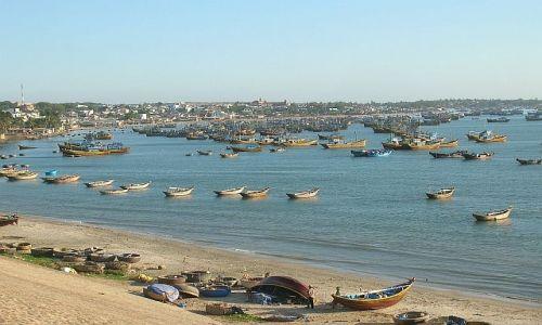 Zdjecie WIETNAM / morze Południowo Chińskie / Phan Thiet / zatoka 1