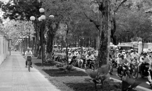 Zdjęcie WIETNAM / Wietnam / Ho Chi Minh City / Spryciarz