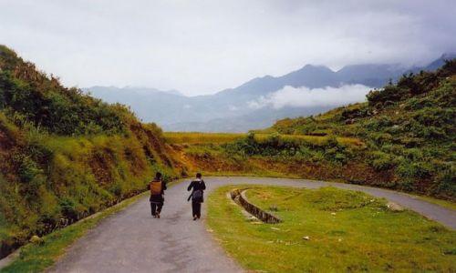 Zdjecie WIETNAM / Północny Wietnam / Góry Sapa / Powrót do domu