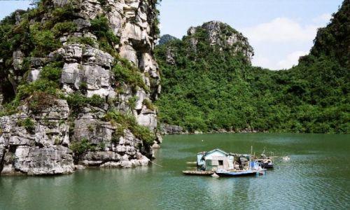 Zdjecie WIETNAM / Halong Bay / Halong Bay / Taki domek na wodzie