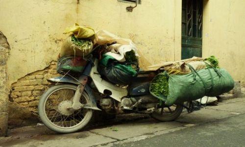 Zdjecie WIETNAM / Hanoi / Hanoi / Motorek :)