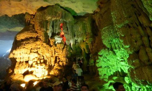 Zdjecie WIETNAM / halong bay / wietnam / jaskinia