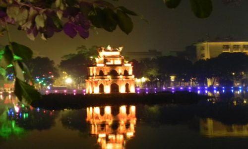 Zdjęcie WIETNAM / hanoi / jezioro / jezioro Hoan Kiem