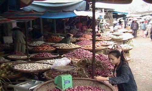 Zdjęcie WIETNAM / Srodkowy Wietnam / Hue / Kolor warzyw