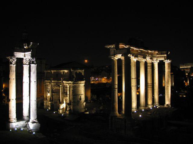 Zdjęcia: Forum Romanum, Rzym, WłOCHY
