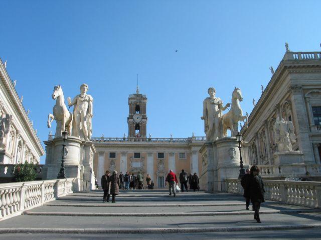 Zdjęcia: Przyłapani w bezruchu Kastor i Polluks ;), Rzym, WłOCHY