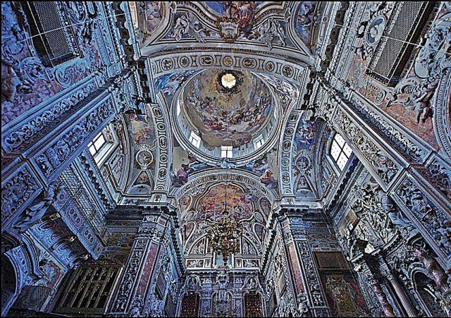 Zdjęcia: Palermo, Sycylia, Kościół św. Katarzyny, WłOCHY