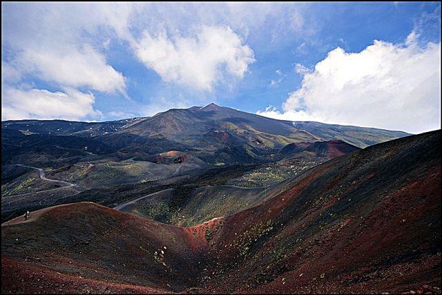 Zdjęcia: Etna, Sycylia, Krajobraz Etny, WłOCHY