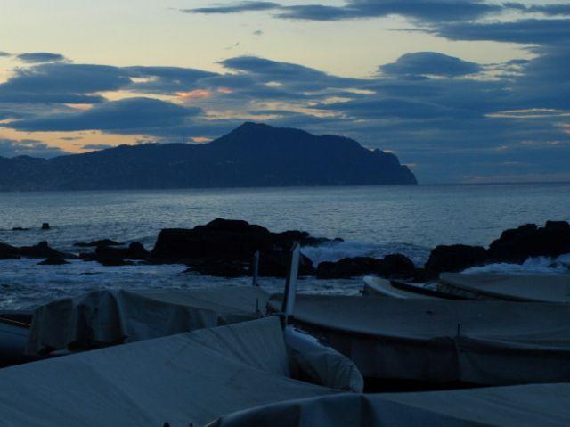 Zdjęcia: Genua, Wschód słońca , WłOCHY