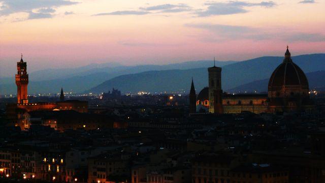 Zdjęcia: Florencja, Toskania, Florencja przed zmierzchem, WłOCHY