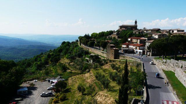 Zdjęcia: Jedno z toskańskich miasteczek, Toskania, Toskania..., WłOCHY