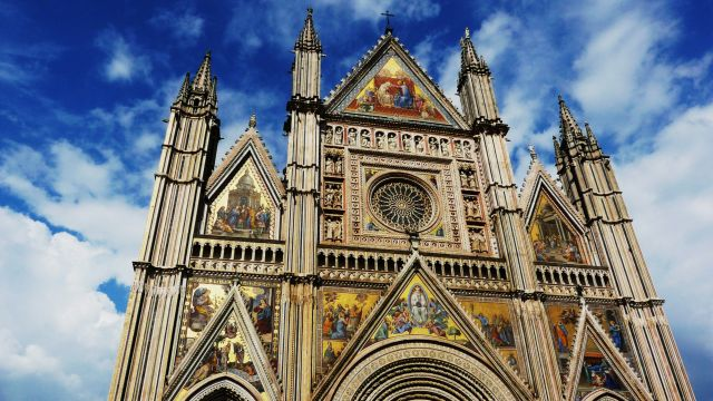 Zdjęcia: Orvieto, Umbria, Orvieto katerdra, WłOCHY