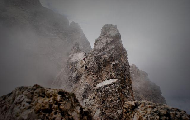 Zdjęcia: ferraty, Alpy, ..-), WłOCHY