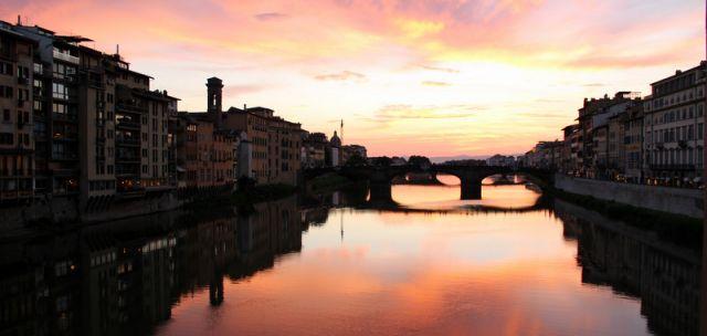 Zdjęcia: Florencja, Toskania, O zachodzie słońca, WłOCHY