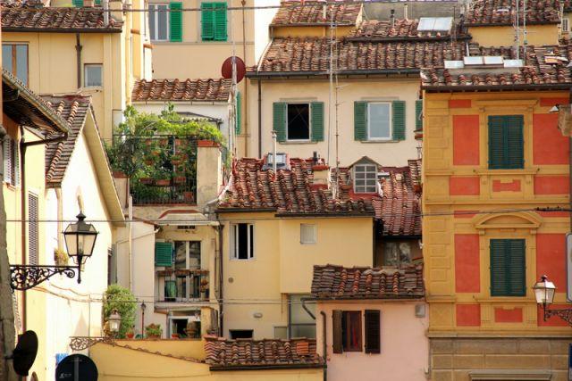 Zdjęcia: Florencja, Toskania, Dachy Florencji, WłOCHY