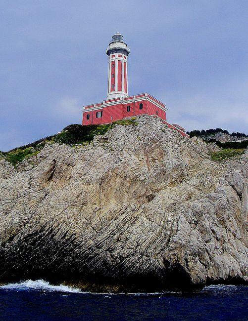Zdjęcia: Capri, Kampania, Punta Carena, WłOCHY