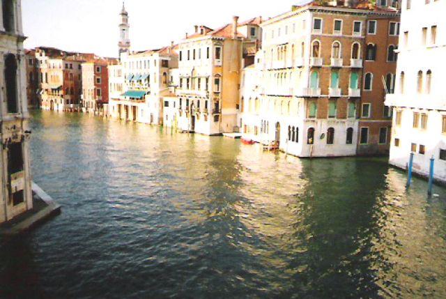 Zdjęcia: Wenecja, Widok na kanał, WłOCHY
