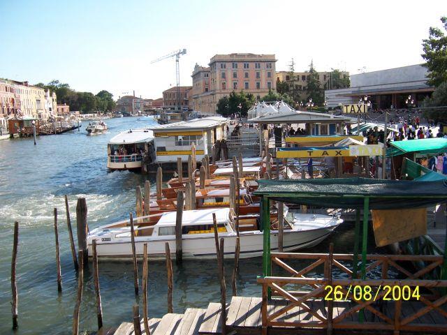 Zdjęcia: Wenecja, Wenecja Euganejska, Postój taxi, WłOCHY
