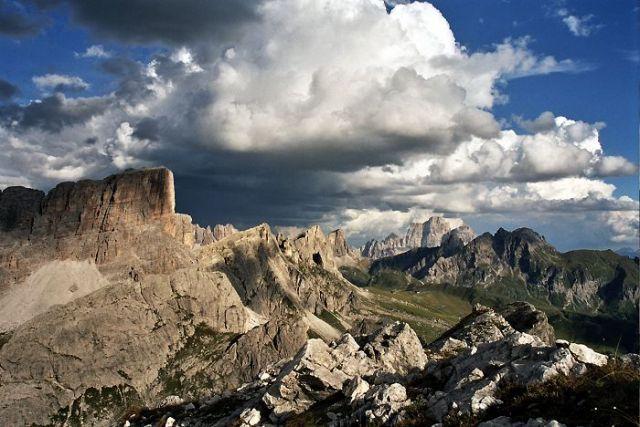 Zdjęcia: Averau / Passo Falzarego, Dolomity, Statki na niebie..., WłOCHY