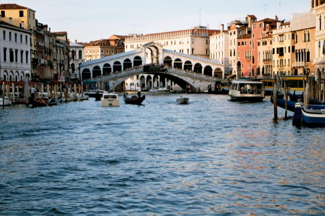 Zdjęcia: Wenecja - most Rialto (Canale Grande), Wenecja, WłOCHY