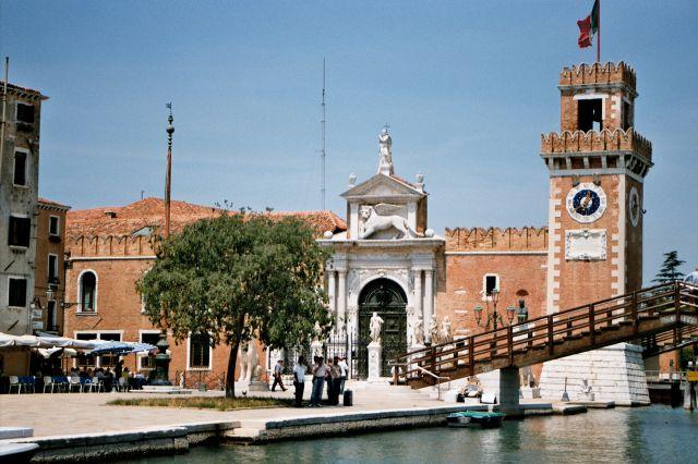 Zdjęcia: Wenecja - Arsenał w dzielnicy Castello, Wenecja, WłOCHY