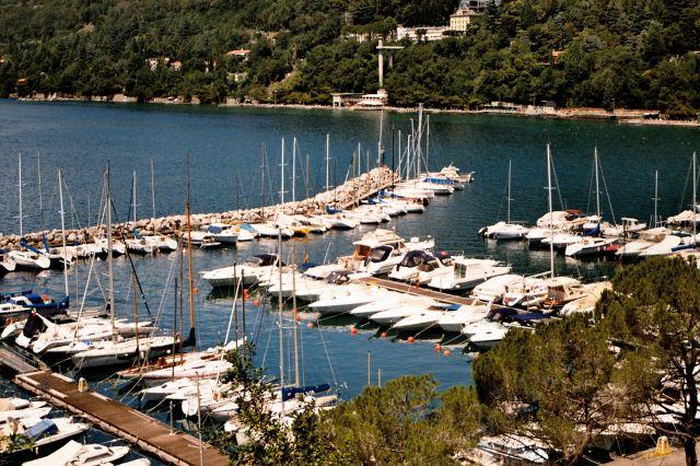 Zdjęcia: Triest - port jachtowy w pobliżu parku Miramare, Triest, WłOCHY