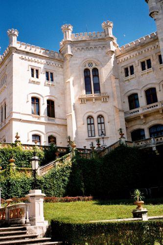 Zdjęcia: Zamek Miramare koło Triestu, Triest, WłOCHY
