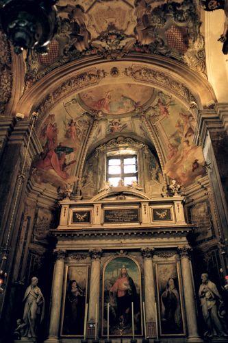 Zdj�cia: Udine - freski Tiepolo w katedrze, Udine, W�OCHY
