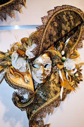 Zdjęcia: Wenecja - maska karnawałowa, Wenecja, WłOCHY