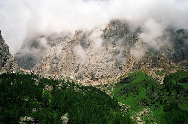 Zdjęcia: Masyw Marmolady, Dolomity, Meeting place, WłOCHY