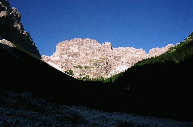 Zdjęcia: podejście do Tre CIme, Dolomity di Sesto, Mały kąsek z rana..., WłOCHY