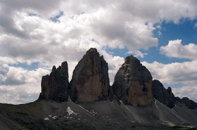 Zdj�cia: Tre Cime di Lavaredo, Dolomity di Sesto, Czy tamt�dy biegnie Orla Per�?, W�OCHY