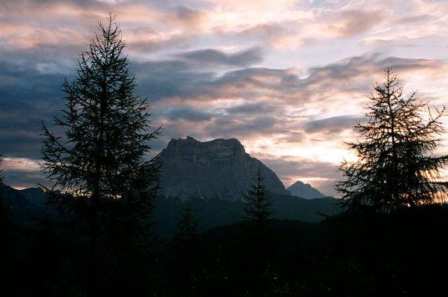 Zdj�cia: Civetta, Dolomity, Antelao rann� por�, W�OCHY