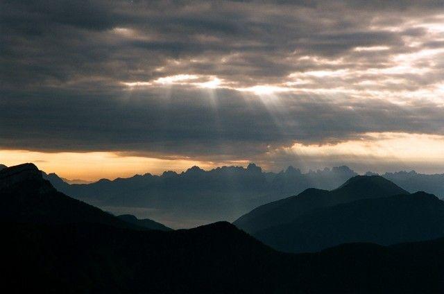 Zdjęcia: Civetta, Dolomity, Nagroda za poranne wstawanie, WłOCHY