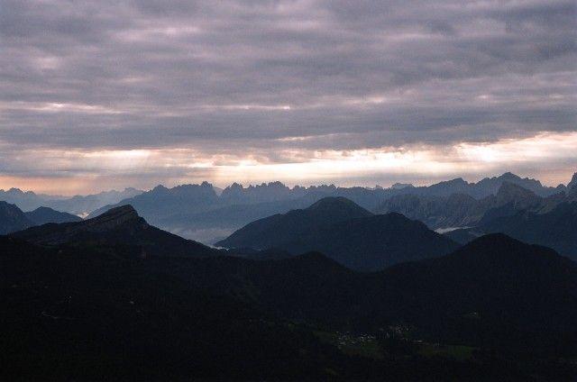 Zdjęcia: Civetta, Dolomity, Nagroda za poranne wstawanie 2, WłOCHY
