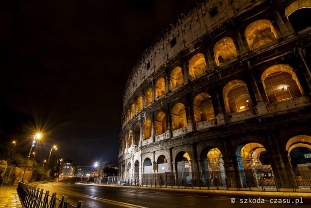 Zdjęcia: Koloseum, Rzym, Rzym Koloseum Nocą 1, WłOCHY