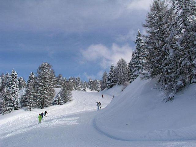 Zdjęcia: Andalo, Włochy, Alpy zimową porą...., WłOCHY