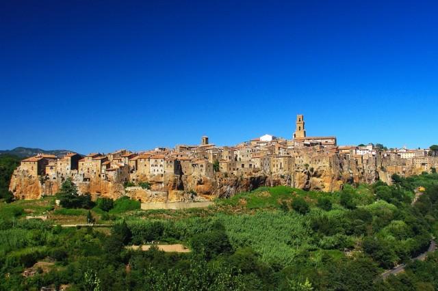Zdjęcia: Pitigliano, Toskania, Pitigliano, WłOCHY